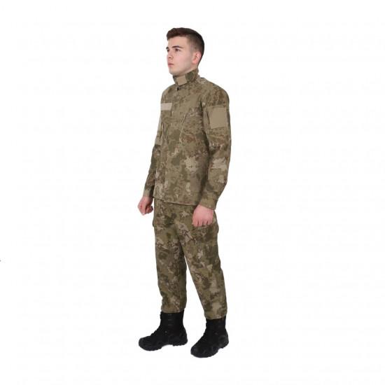 Yeni Kamuflaj Gömlek Pantolon Set